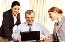 Forretningsmøde - generationsskifte