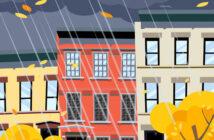 Kraftigt regnvejr