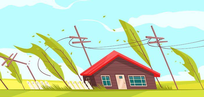Hus i vind