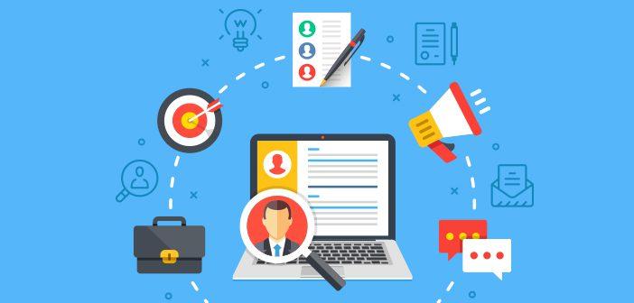 Et HR system har mange forskellige funktioner