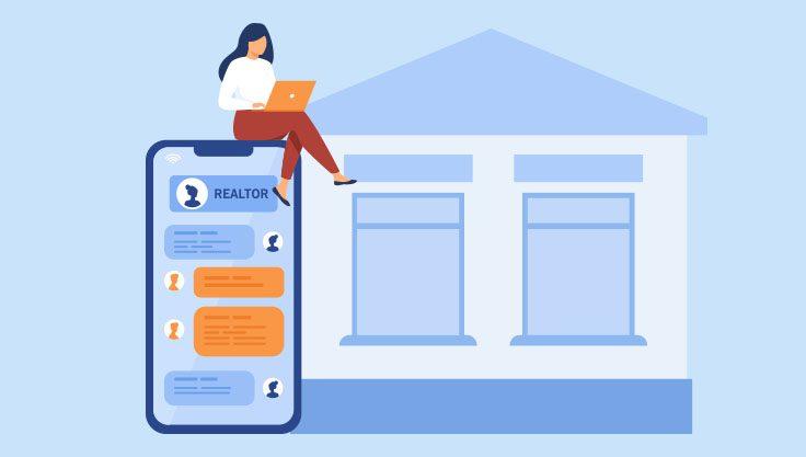 Kvinde-kontakter-ejendomsmaegler